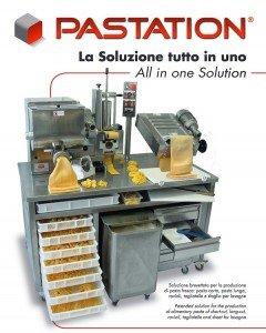 PASTATION Máquina combinada pasta fresca para Restauración