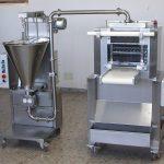 Fábrica industrial con una producción de 250 kg de pasta ahora