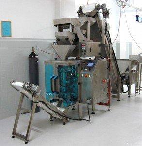 Termoselladoras envasado en atmósfera modificada para Pasta