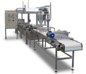 Plantas para la producción de Canelones Lasañas pasta precocidos