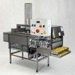 Máquina para la pasteurización de la pasta fresca y pasta rellena